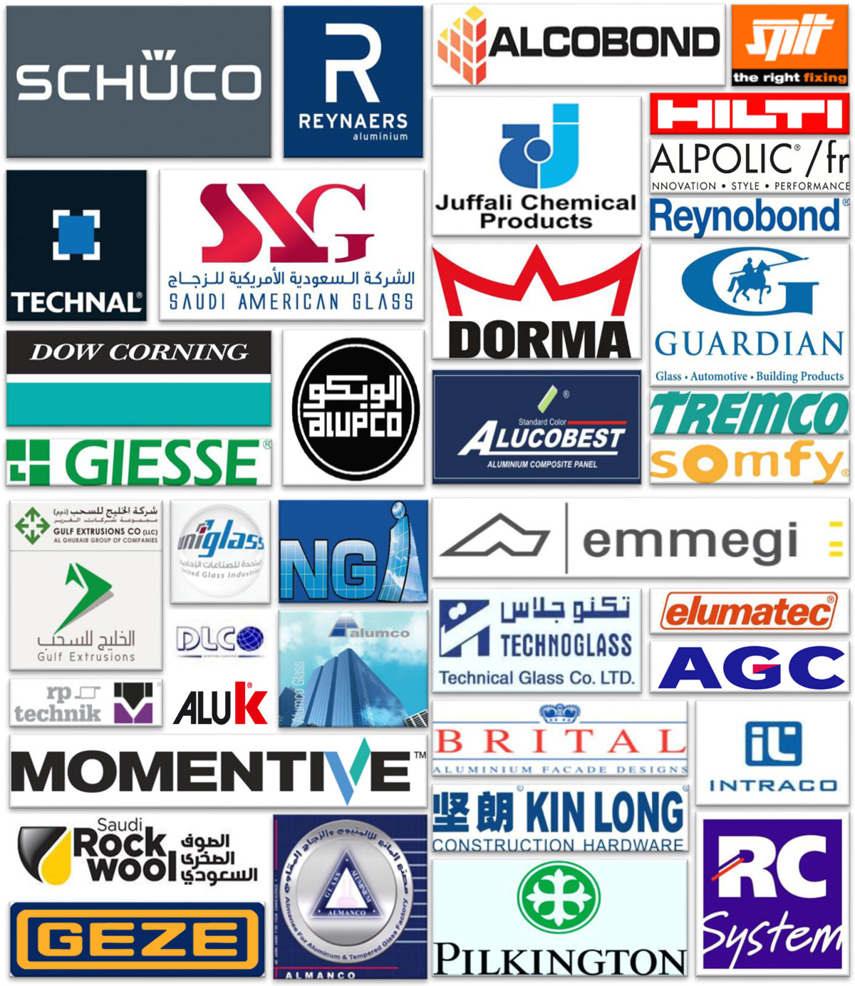 Our business partners | Cube Metal Industries